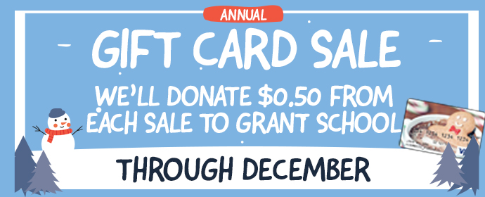 Gift Card Sale graphic