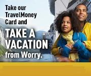 Travel card graphic