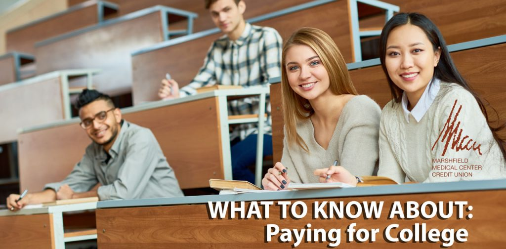Paying for college graphic