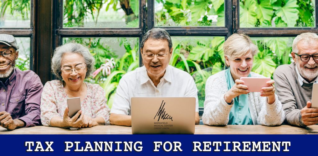 tax-planning for retirement image