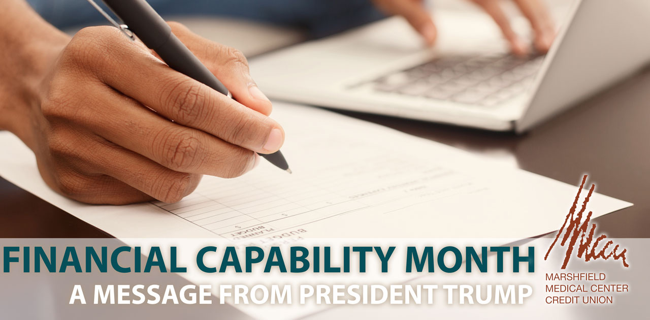 financial capability month banner