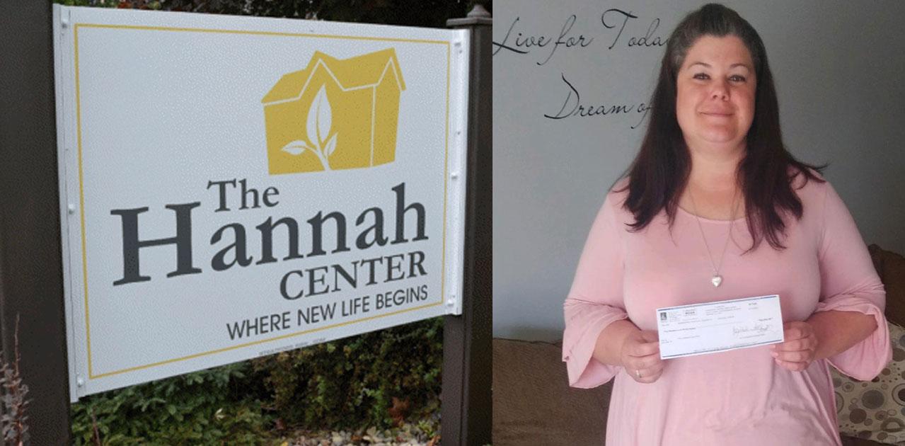 Hannah Center donation