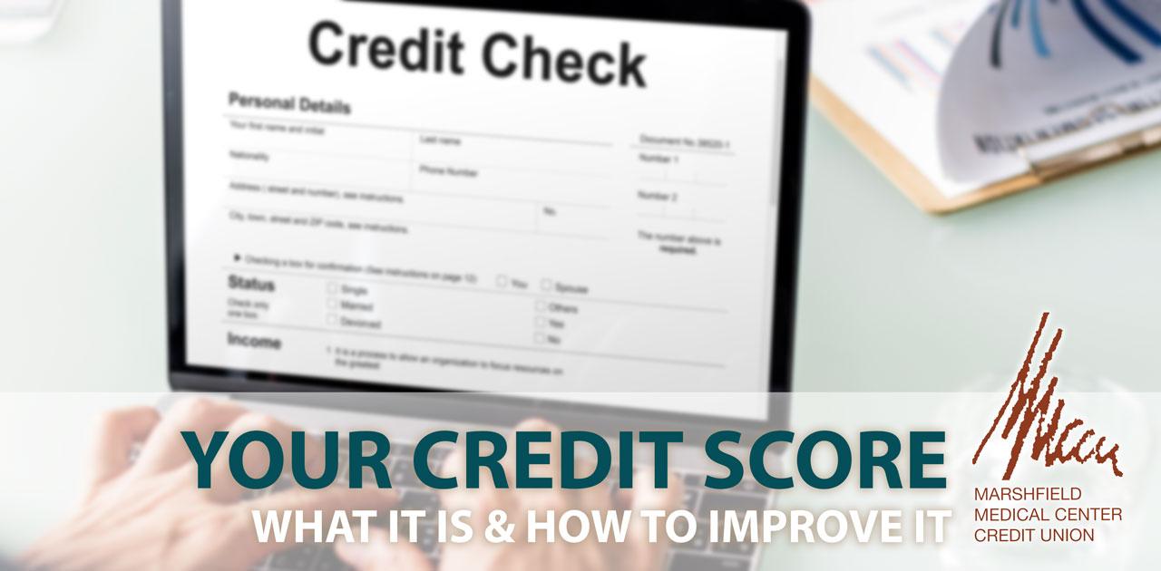 credit score banner
