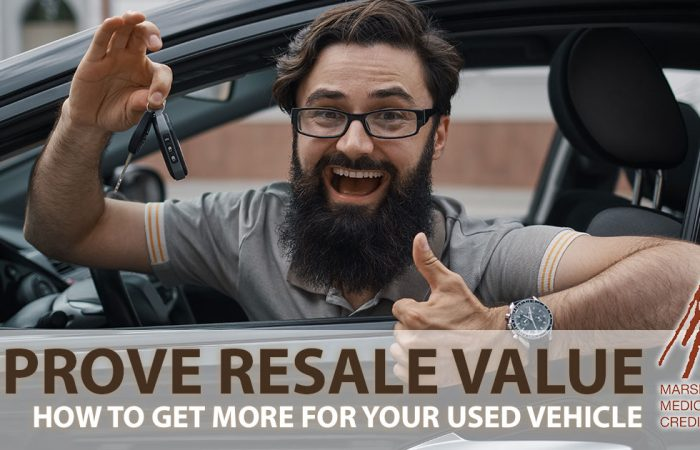 improve resale value of car