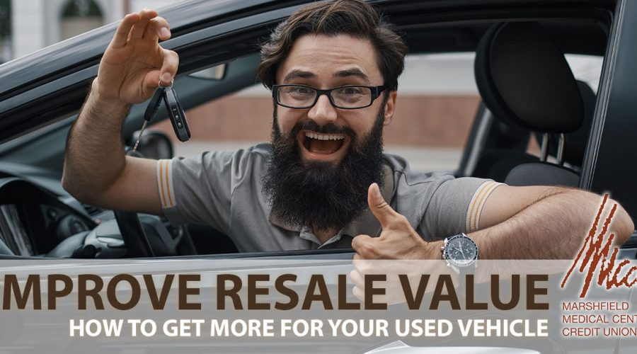 improve resale value of car