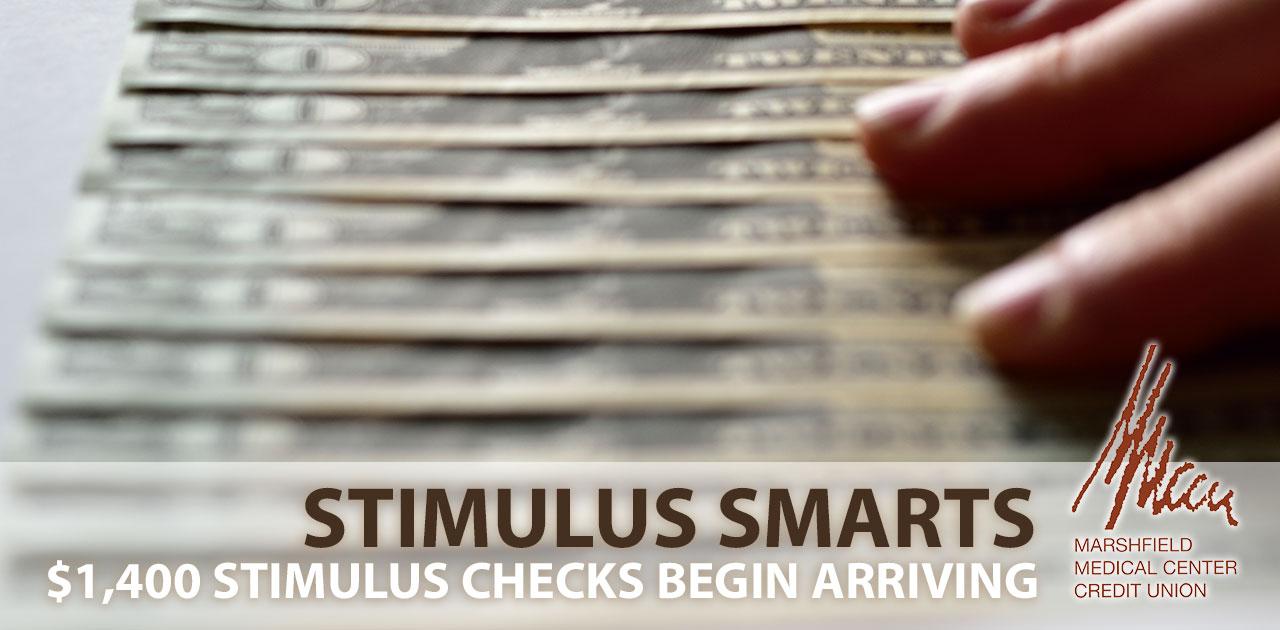 stimulus money is arriving