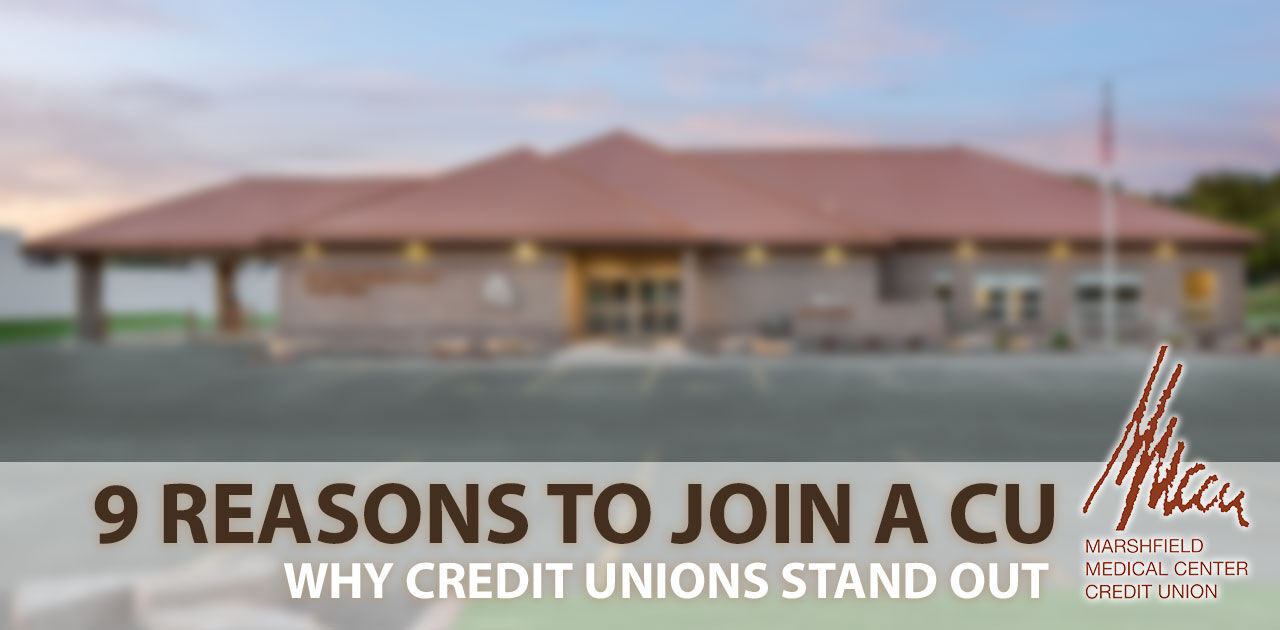 reasons to join a credit union