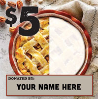 5 dollar donation