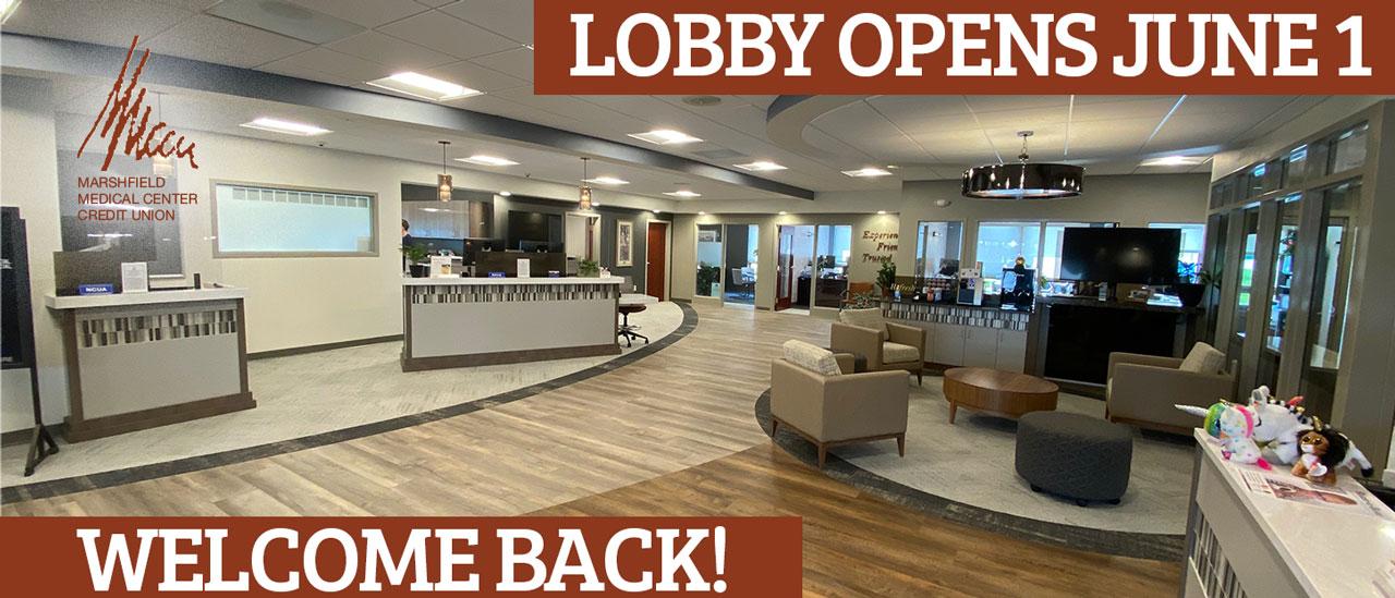 lobby reopens june 1