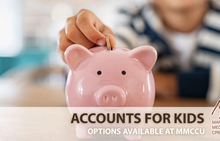 kids accounts money